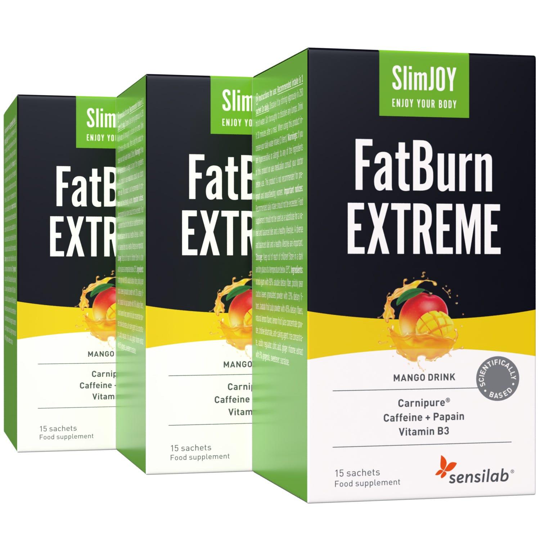 FatBurn Extreme   Močan napitek za kurjenje maščobe s termogenim učinkom za maksimalno izgubo maščobe   45-dnevni program   1+2 GRATIS   SlimJOY.