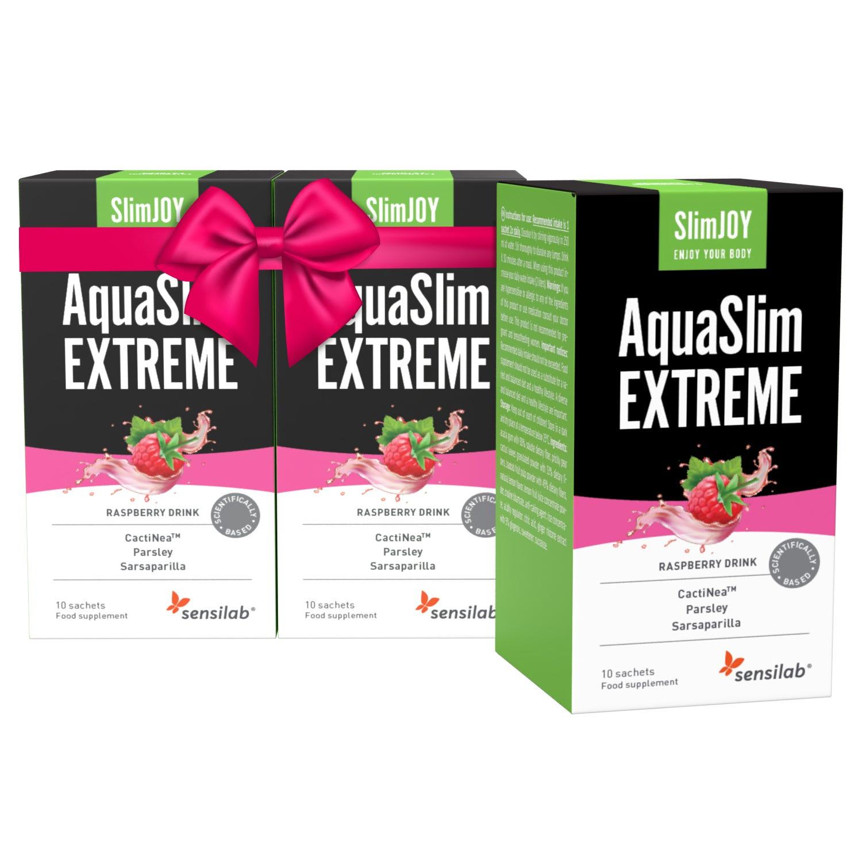 AquaSlim EXTREME [Limitiertes Angebot: 1+2 GRATIS]: Tschüss Wassergewicht und Giftstoffe, hallo schlanke Linie.