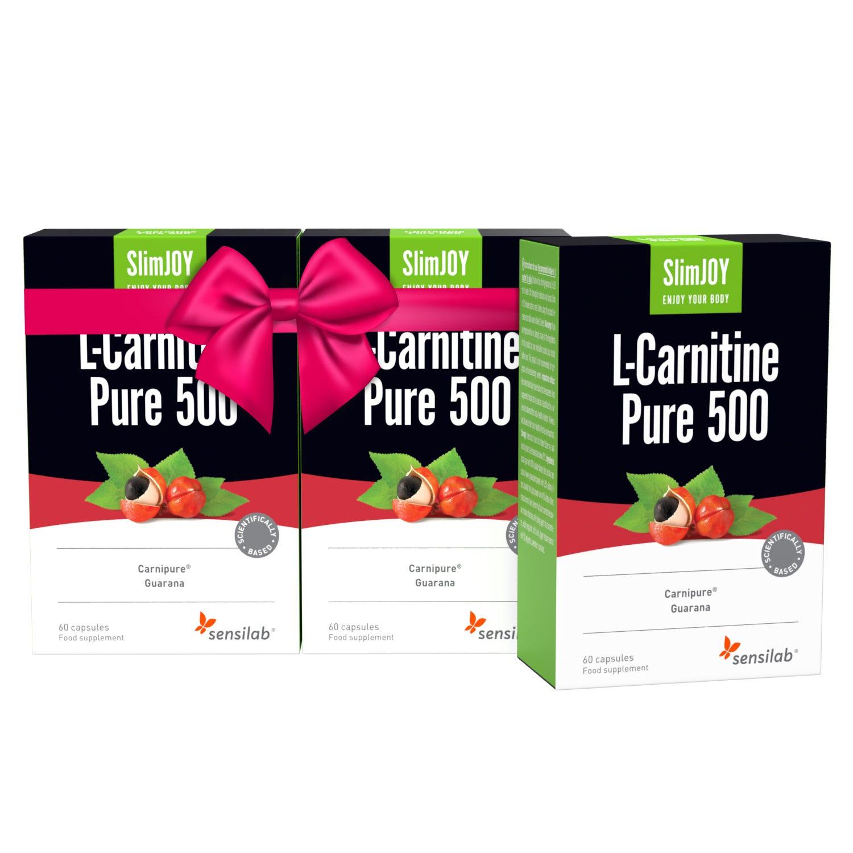 L-Carnitine Pure 500 1+2 GRATIS.