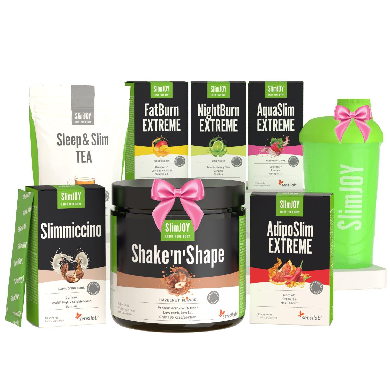 MISSION :  Corps à tomber + SHAKER OFFERT | Perdre du poids en 60 jours : en 3 étapes pour une silhouette bikini avant l'été | SlimJOY.